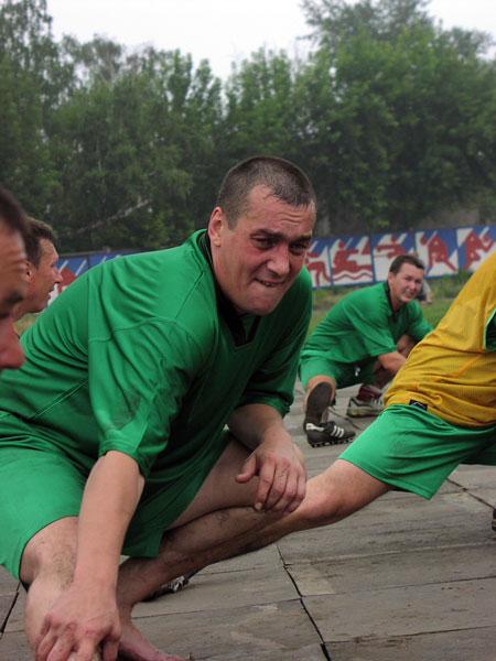 Август 2003 года. Стадион «Локомотив». Алексей Негрун на тренировочном сборе