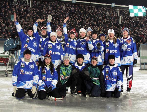 «Рекорд» – обладатель Кубка мира среди девушек 2002 года