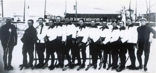 1931 год. Мужская команда «Динамо»