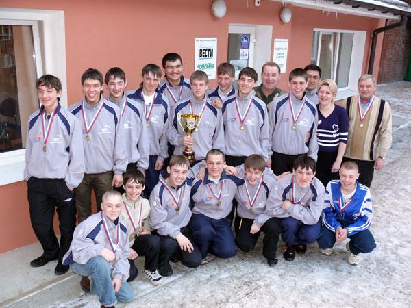 Воспитанники Евгения Данилова –  бронзовые призёры первенства России среди юношей 2008 года