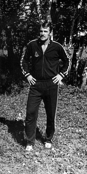 На предсезонных сборах в 1976-м