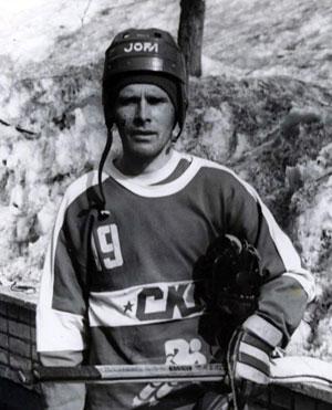 Валерий Чухлов в форме хабаровского СКА