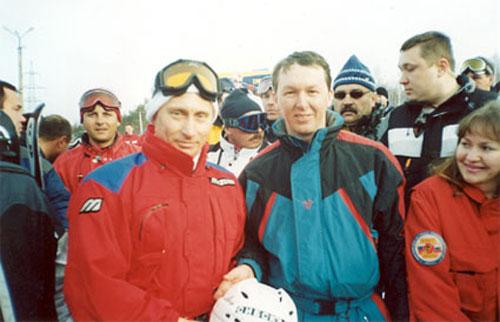 Памятная встреча с президентом России