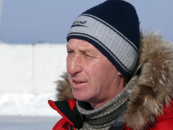 Февраль 2007 года. Александр Клементьев –  главный тренер шелеховского «Металлурга»