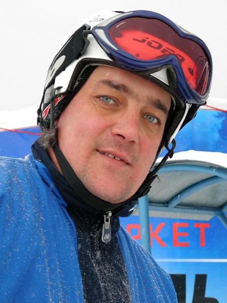 Вратарь-горнолыжник