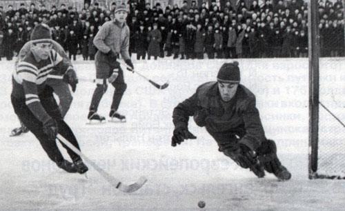 5 января 1967 года, Архангельск. Школьный против «Водника»
