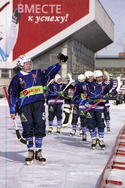 Хоккеисты благодарят болельщиков за поддержку