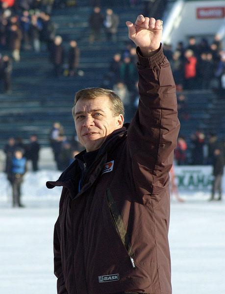 Шишкин-тренер благодарит  болельщиков за поддержку