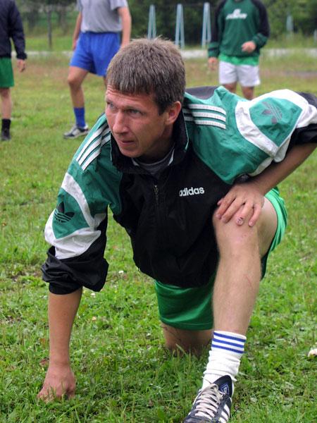 2003 год. На предсезонном сборе в Байкальске