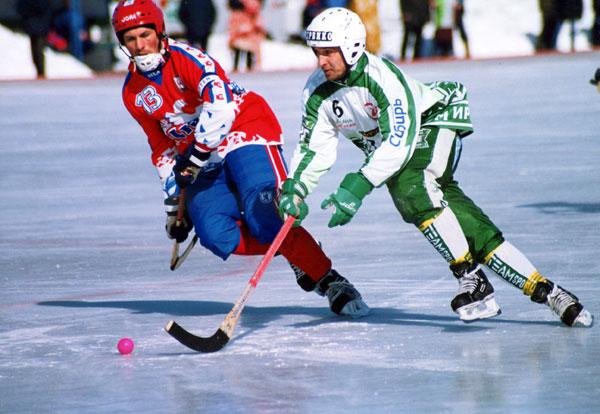 В игре против Юрия Логинова, старейшины чемпионатов страны