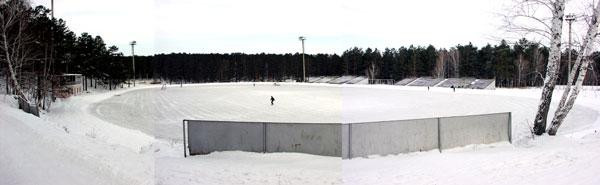Так выглядел стадион «Рекорд» до прихода сюда «Байкал-Энергии»