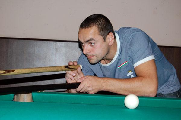 Андрей Ковалёв – лучший бильярдист «Байкал-Энергии»
