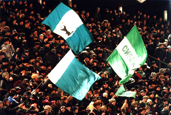 Болельщики перед сезоном 2001 года ждали от «Сибсканы-Энергии» только медалей
