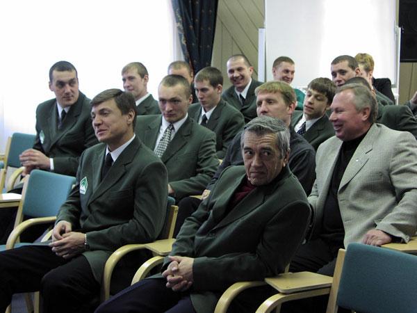 На встрече с генеральным директором ОАО Иркутскэнерго  Владимиром Колмогоровым