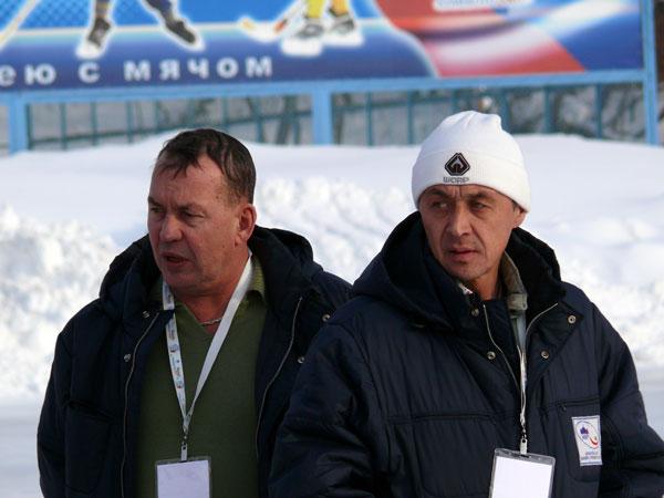 29 января 2007 года. С Виталием Похоевым на чемпионате мира в  Кемерово