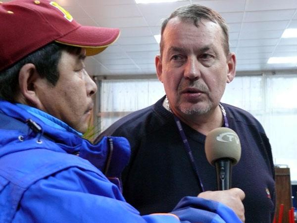 Интервью для монгольского телевидения