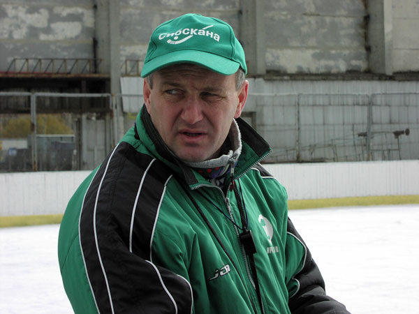 2003 год. На ледовом сборе в Ангарске