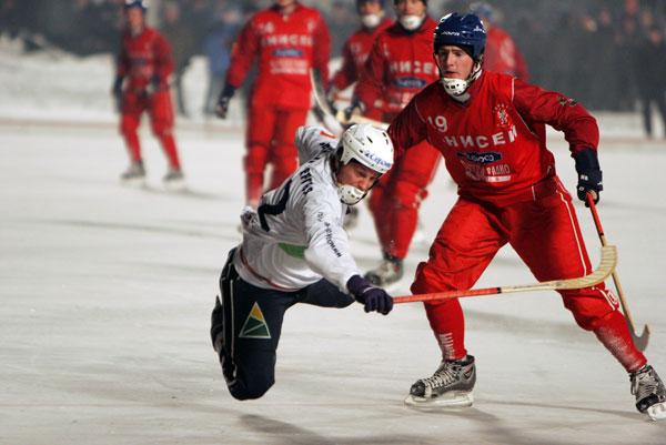 21 декабря 2005 года. «Байкал-Энергия» – «Енисей» – 6:1.  Хоккейное айкидо в исполнении Дмитрия Соколова