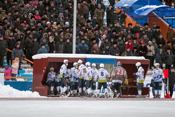 16 декабря 2006 года. «Кузбасс» – «Байкал-Энергия». Иркутяне всем составом уходят на скамейку оштрафованных