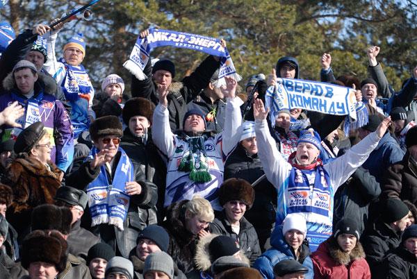 Самые настоящие болельщики – только в русском хоккее