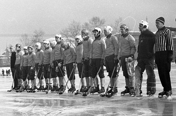15 февраля 1968 г.  Молодёжная сборная Швеции перед матчем