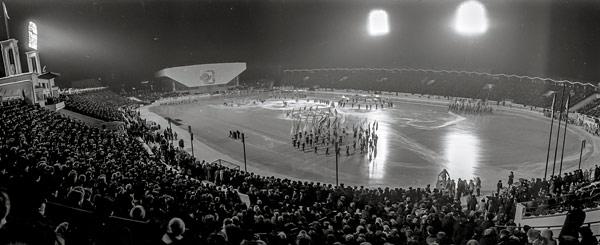 11 февраля 1986 года. На стадионе «Труд» во время открытия турнира