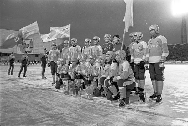Сборная СССР – победитель турнира