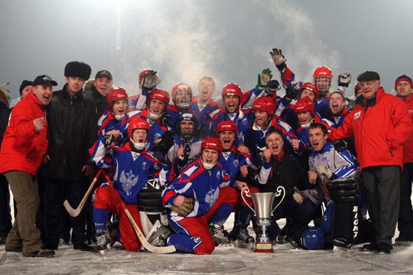 Победное фото экспериментальной российской сборной