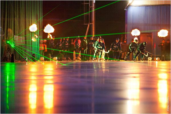 11 ноября 2013 года. Открытие XXII чемпионата России в Иркутске.  «Байкал-Энергия» выходит на поле