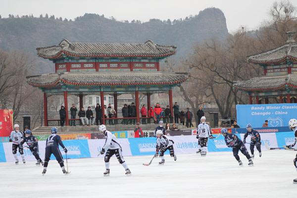 Русский хоккей с китайским колоритом