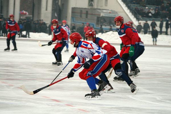 8 декабря 2006 года. Россия – Норвегия – 10:2.  Острая атака на ворота норвежской команды