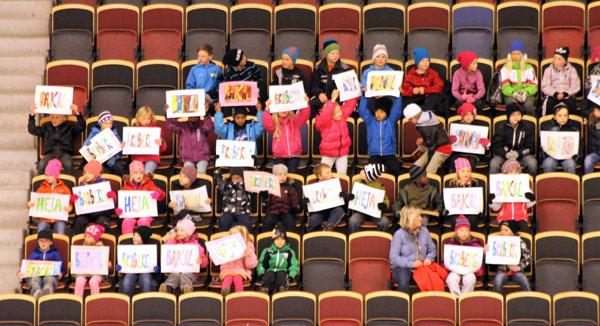 Шведские школьники активно поддержали не только «Бруберг»,  но и «Байкал-Энергию»