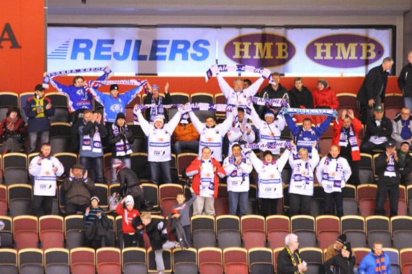 Они были первыми! Двадцать болельщиков «Байкал-Энергии»  поддержали свою команду в Сандвикене