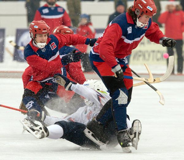 Норвежская сборная без боя не сдалась