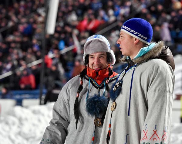 Весь сезон вместе с командой и её преданными болельщиками «шаманили»  шоумены Игорь Бялоус и Антон Титков