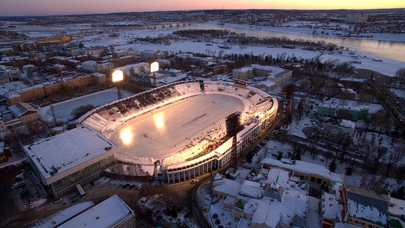 В оследнюю декаду ноября «Байкал-Энергия» вернулась на стадион «Труд»