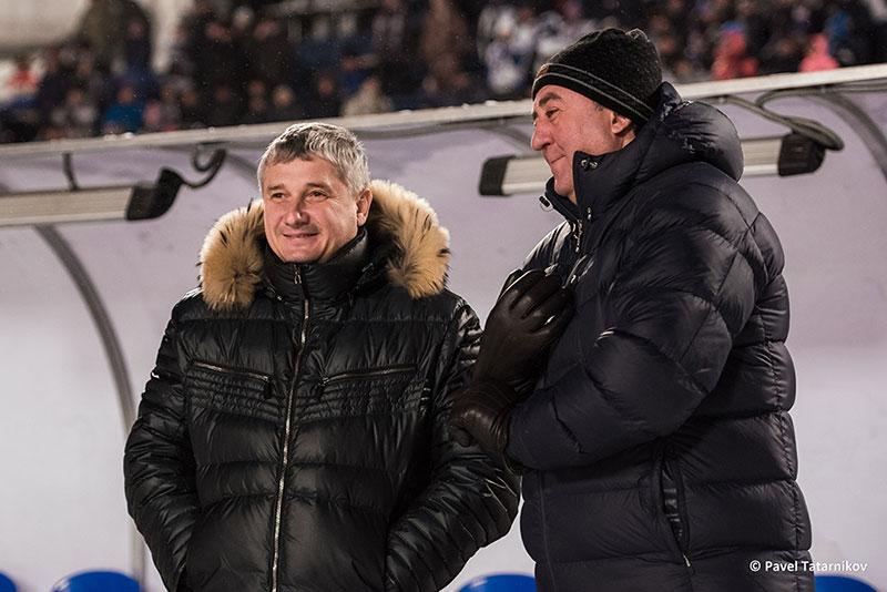 С великим хоккеистом и не менее великим тренером Сергеем Ивановичем Ломановым